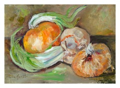 Onion & Garlic Still Life
