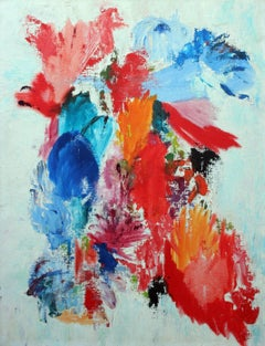 Vibrant Bouquet Abstract