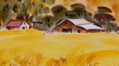 Country Barn Landscape