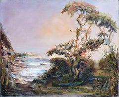 Cypress Coastal Inlet, California Landscape