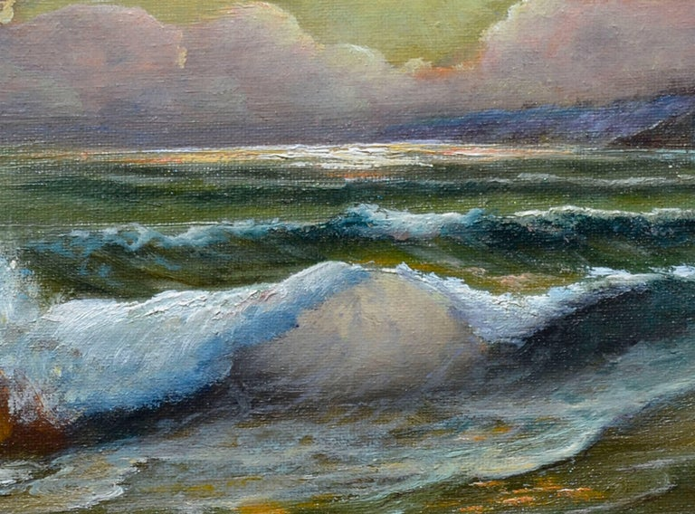 Evening Tide - American Impressionist Painting by Ed LaVelle