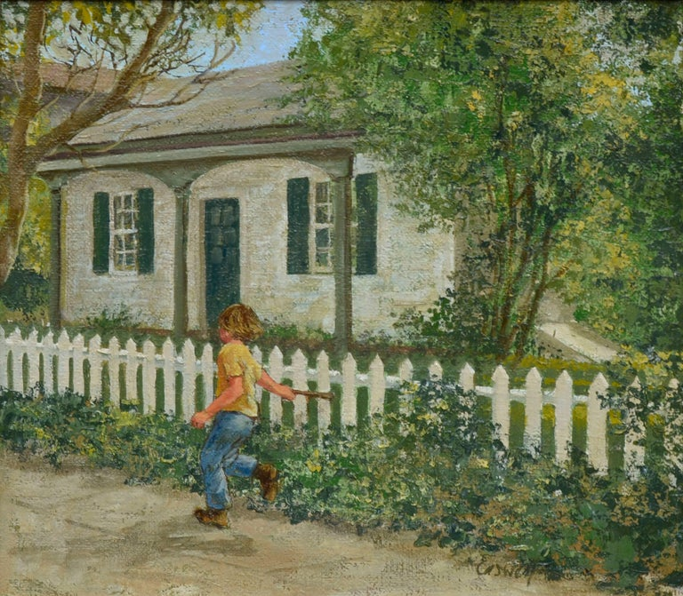 Saturday Afternoon - Painting by Helen Rayburn Caswell