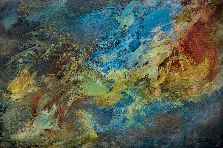 Wave Abstract - Painting by Leta Peghini