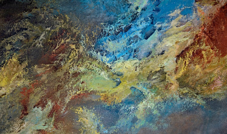 Wave Abstract - Abstract Expressionist Painting by Leta Peghini