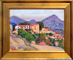 Old Village in France by Adolphe Berson