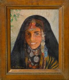 Mid Century Moroccan Berber Girl