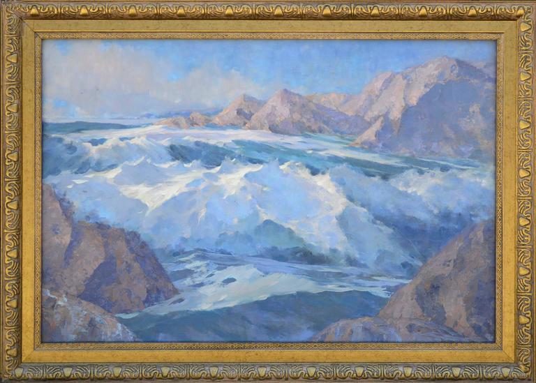 1940s Rugged Alaskan Seascape