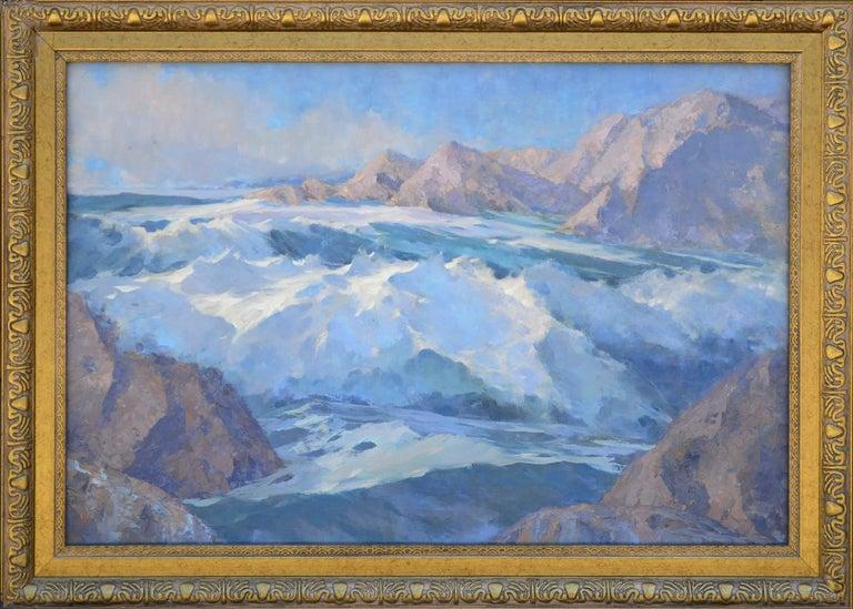 1940s Rugged Alaskan Seascape 1