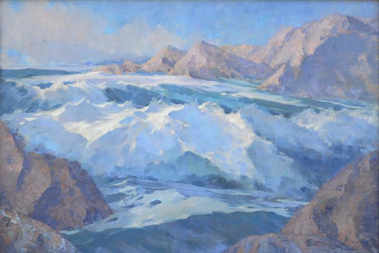 1940s Rugged Alaskan Seascape 2