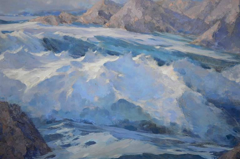 1940s Rugged Alaskan Seascape 3