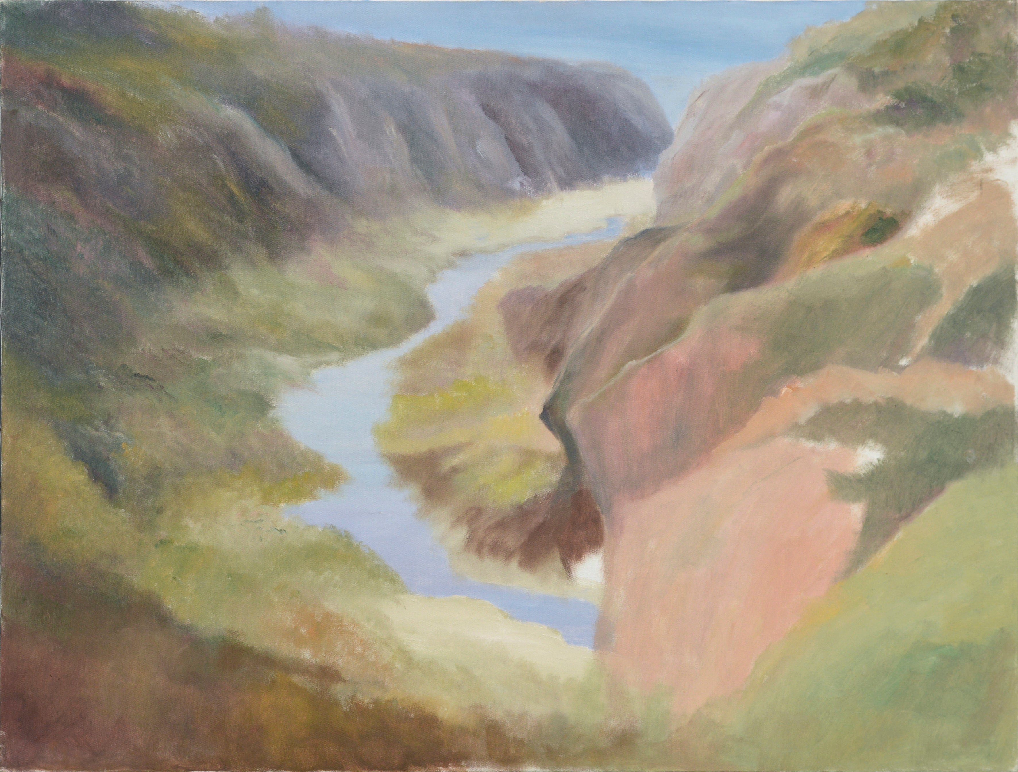 River Outlet in Big Sur by Kenneth Lucas Journey to Ocean