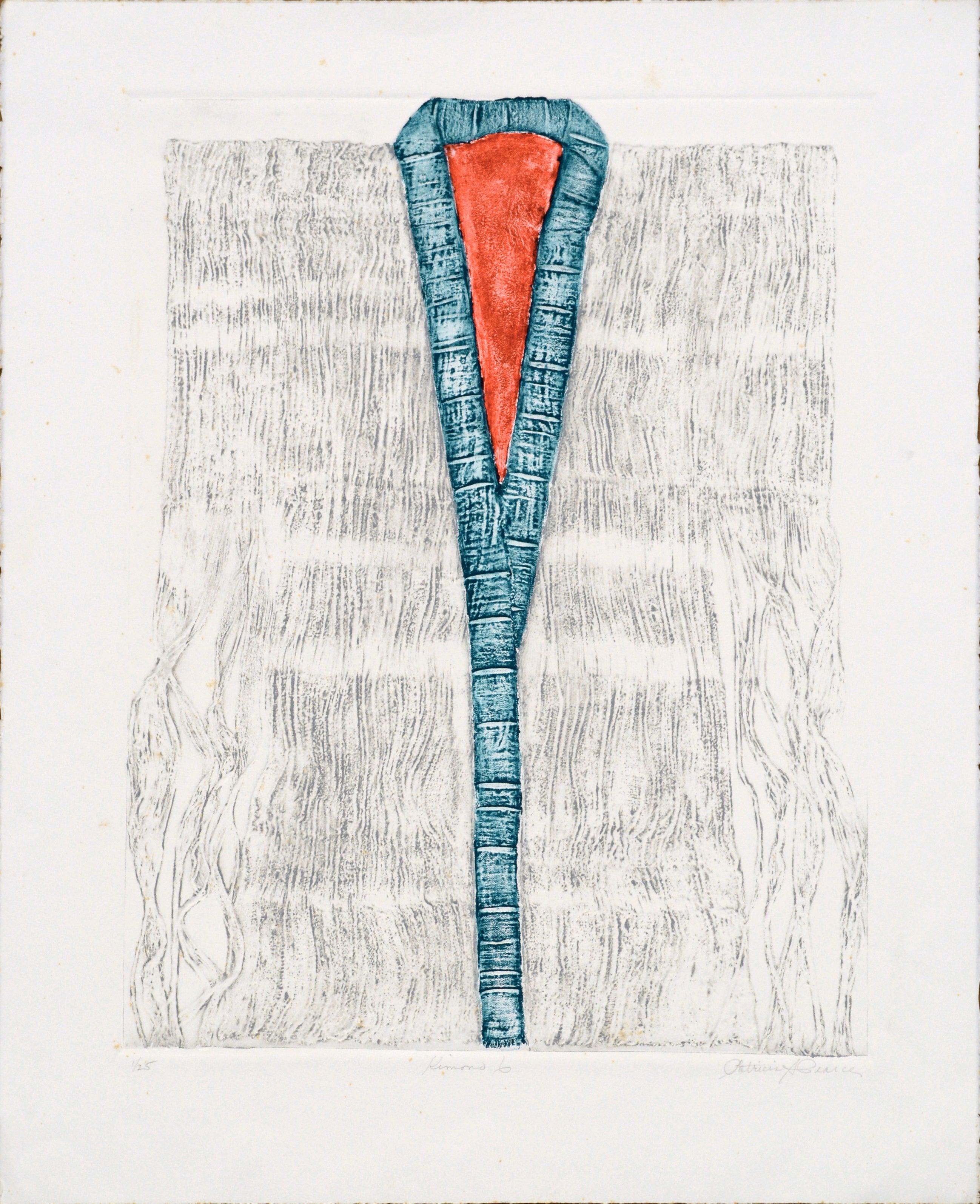 """Kimono 6"" (Blue and Red)"