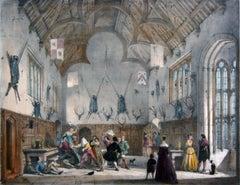 Kings Hall Party Session, Athelhampton, Dorsetshire by Joseph Nash
