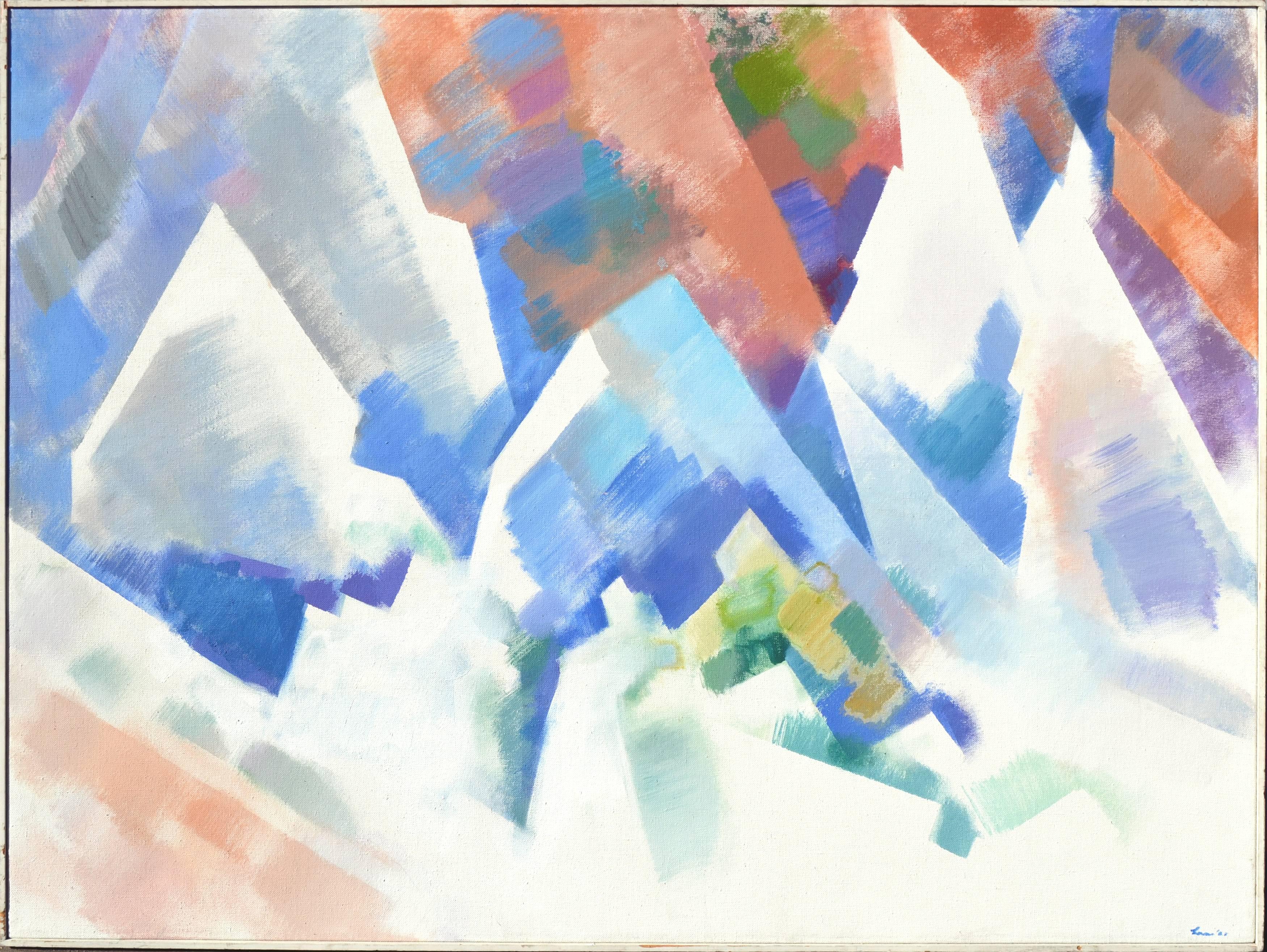 """""""Cliffside"""" - Modernist Abstract Landscape"""