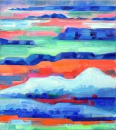 Desert Dreams, 1989 Abstracted Landscape