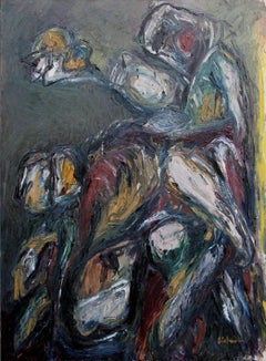 Abstract Expressionist -- Figure in Motion