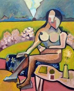 Nude in the Garden Figurative