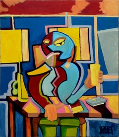 Happy Hour Abstracted Figurative