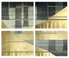 Gold Planes Polyptych