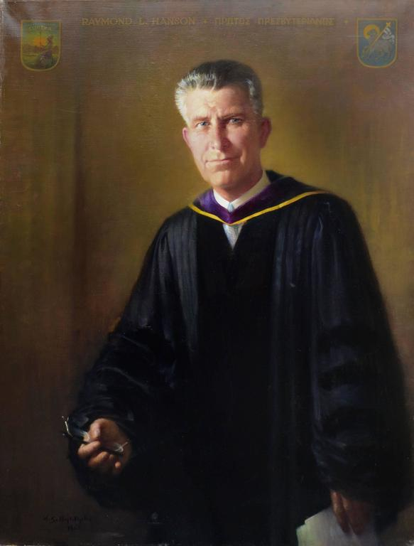 Portrait of Raymond L. Hanson