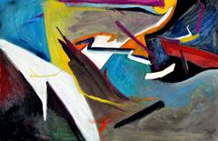 Art of Living, Horizontal Abstract #2