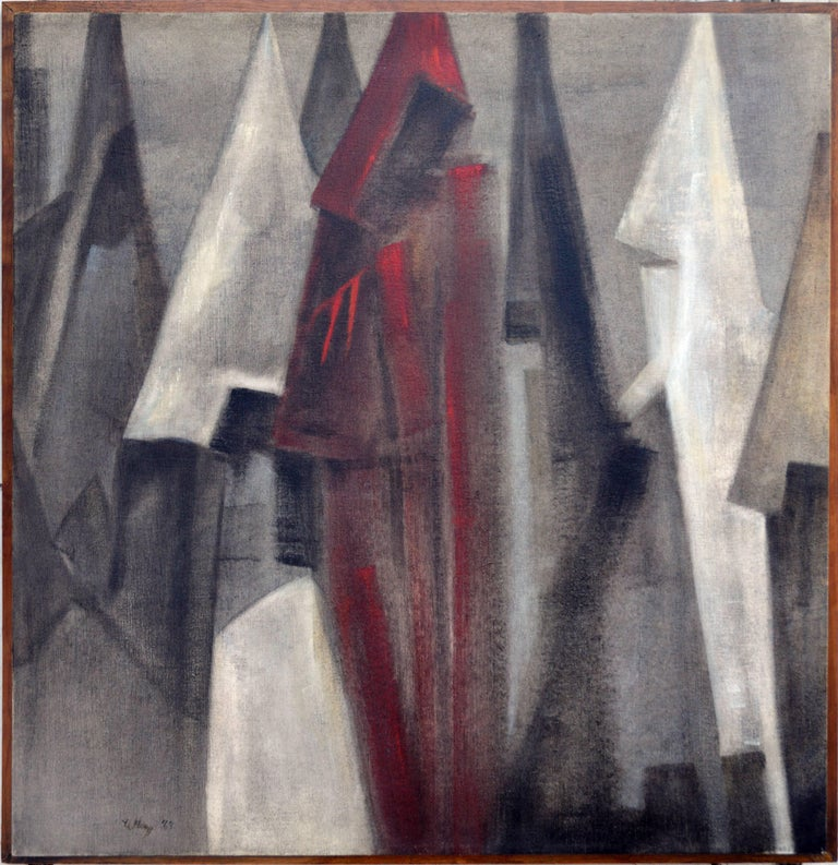 Joseph Ullery Abstract Painting - The Gathering