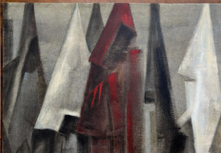 The Gathering  - Abstract Expressionist Painting by Joseph Ullery