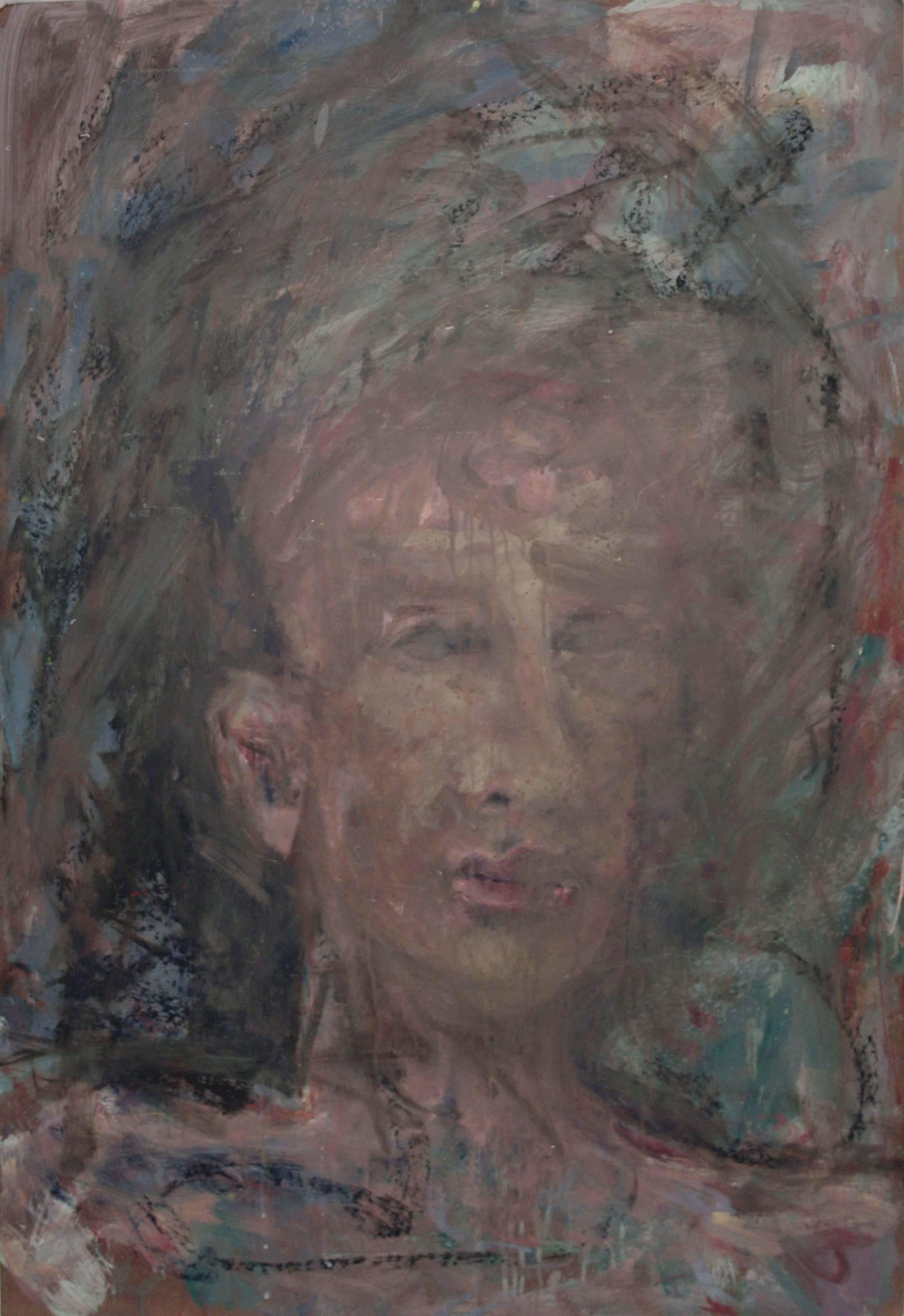 Abstract Expressionist Portrait of a Man