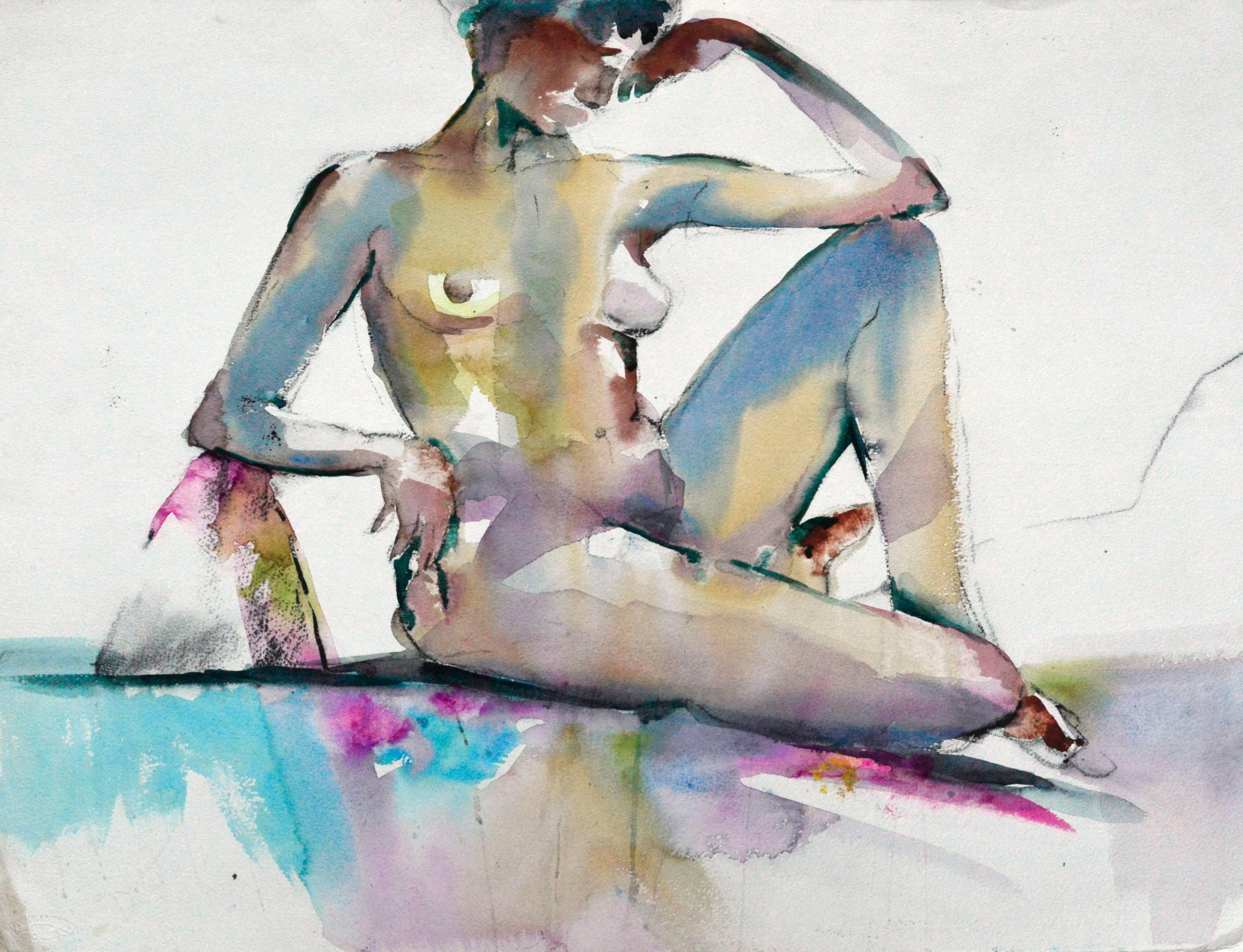 Modernist Resting Nude