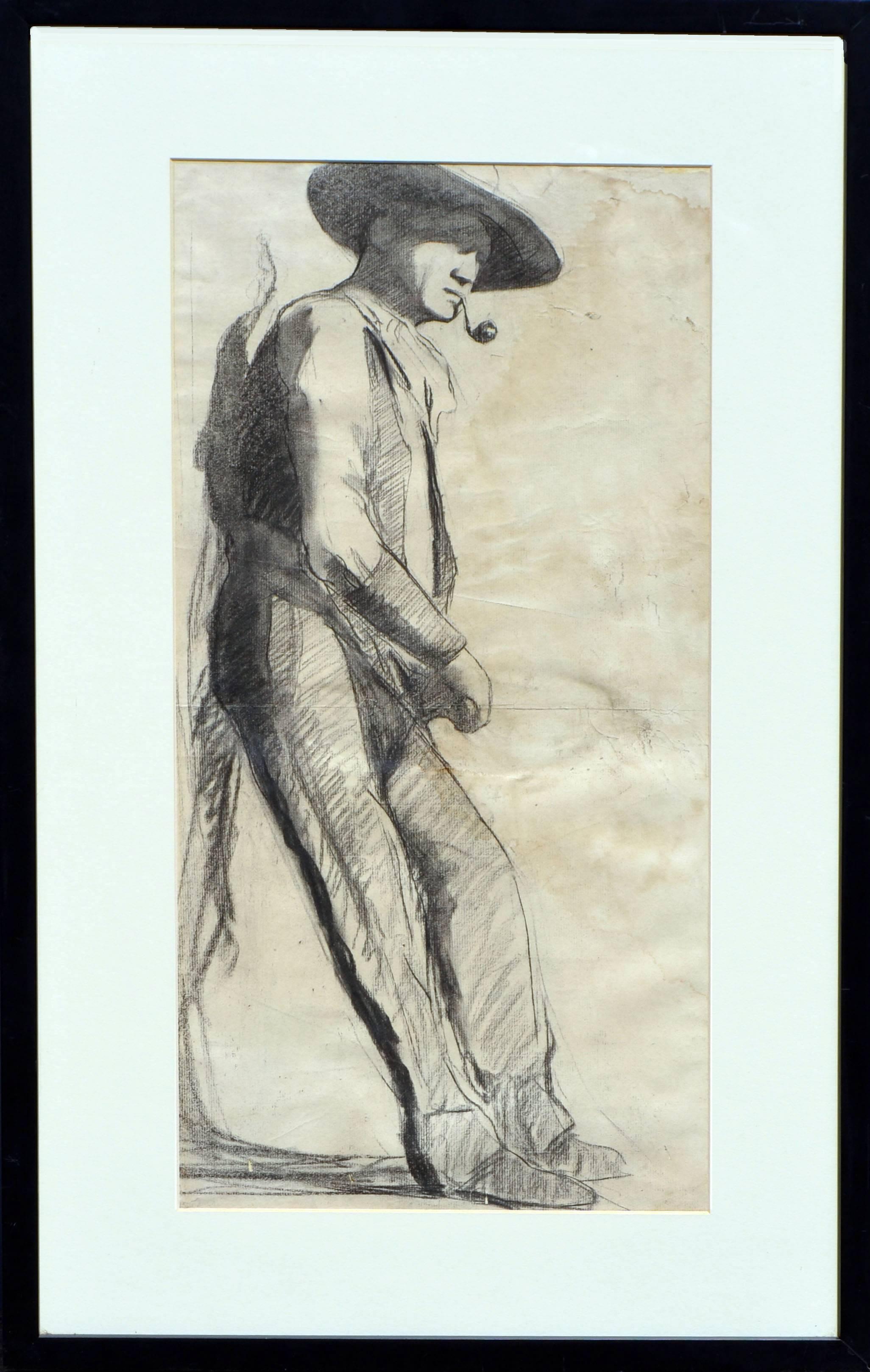 Mid Century Portrait of Gary Cooper