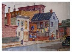Society of Six Street Scene, 1936