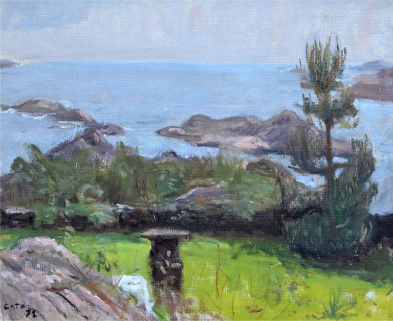 Coastal Waters - Painting by Hendrik Cate