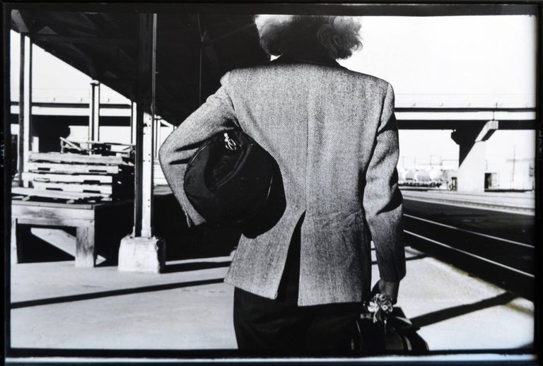 Arrival or Departure Photographs (After Hitchcock) 1987 Betty Hahn 1