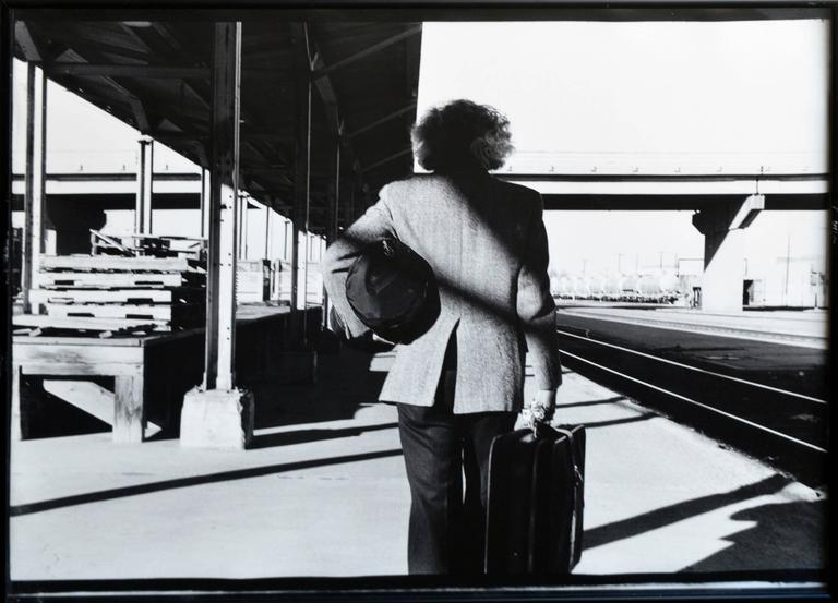 Arrival or Departure (After Hitchcock) 1987 Betty Hahn For Sale 1