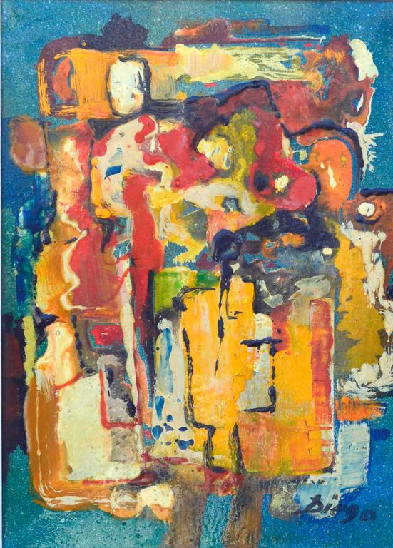 Abstract Composition IX - Painting by Anthony Diego Voci