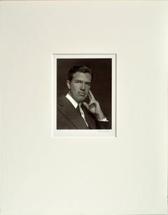 Portrait of a Man, Mid-Century Black & White Photograph
