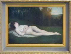 19th Century Reclining Nude