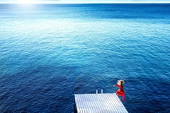 Jumping into the Blue by David Drebin