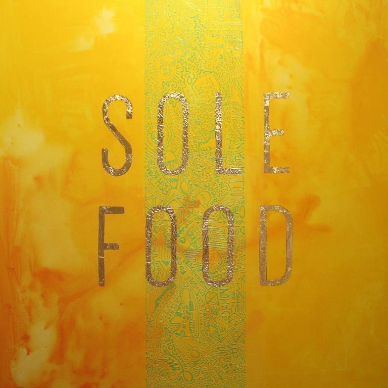 Shoeicide Series: SOLE FOOD SUNDAZE - Mixed Media Art by Cayla Birk