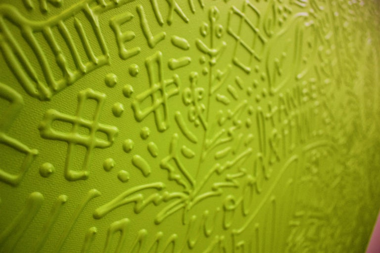 Birktone Series: ABSINTHE - Painting by Cayla Birk