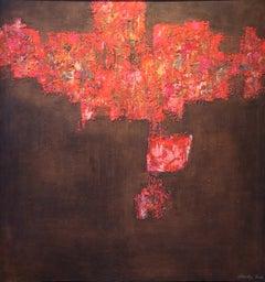 """Capriccio Espagnole,"" 1950s Modern Abstract Painting"