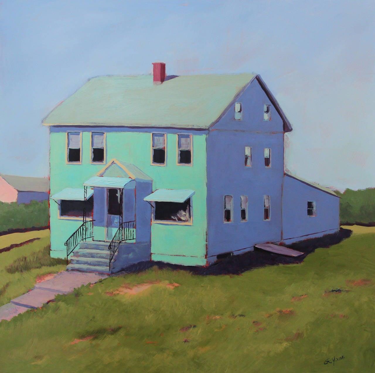 'Already Gone', Bold Contemporary Farmhouse Inspired Acrylic Painting