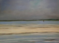 """""""Evening Setting In,"""" Seascape Painting"""
