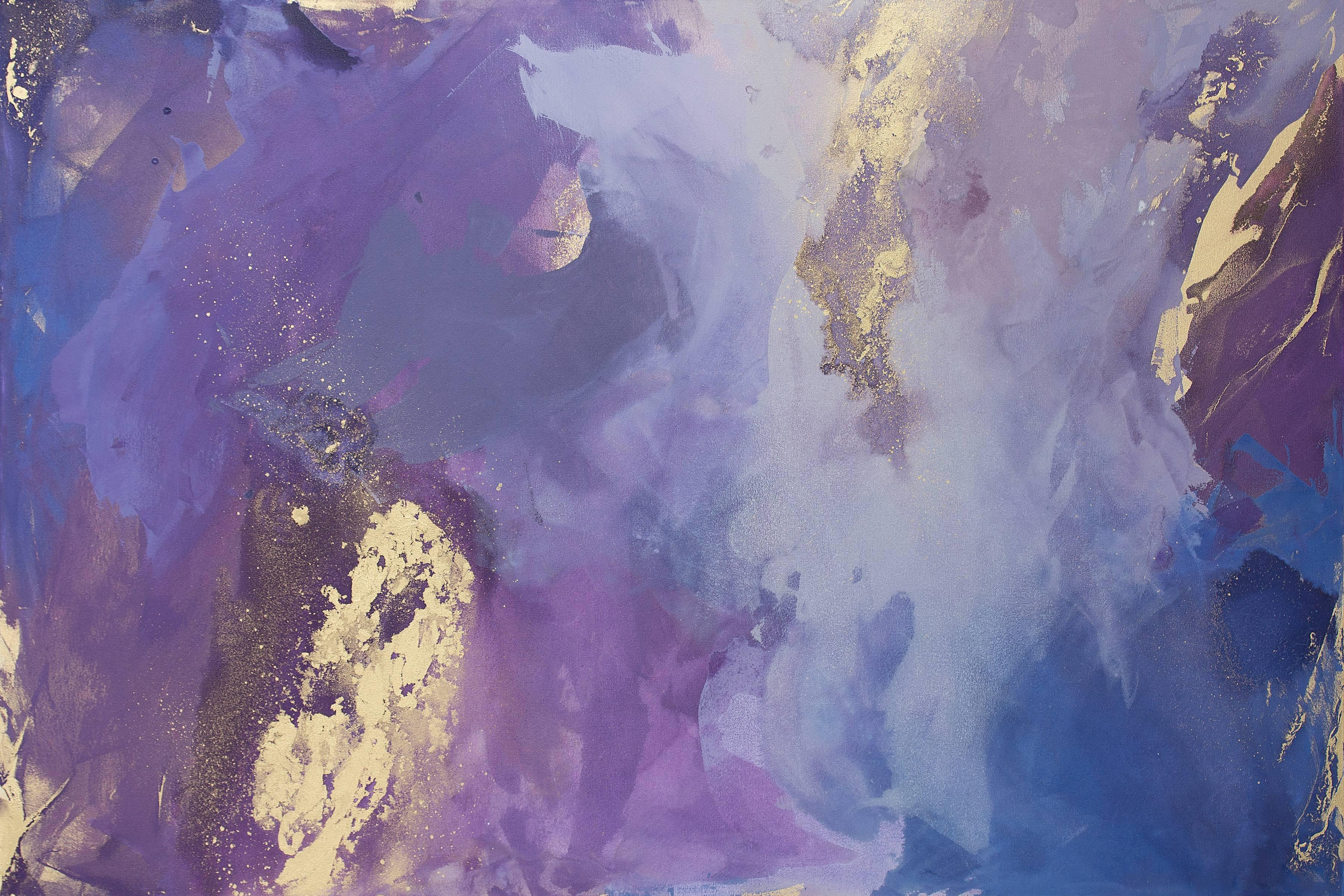 """""""Whirlwind,"""" Abstract Painting"""