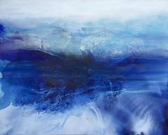 'Restless Tide', Large Contemporary Abstract Minimalist Acrylic Painting