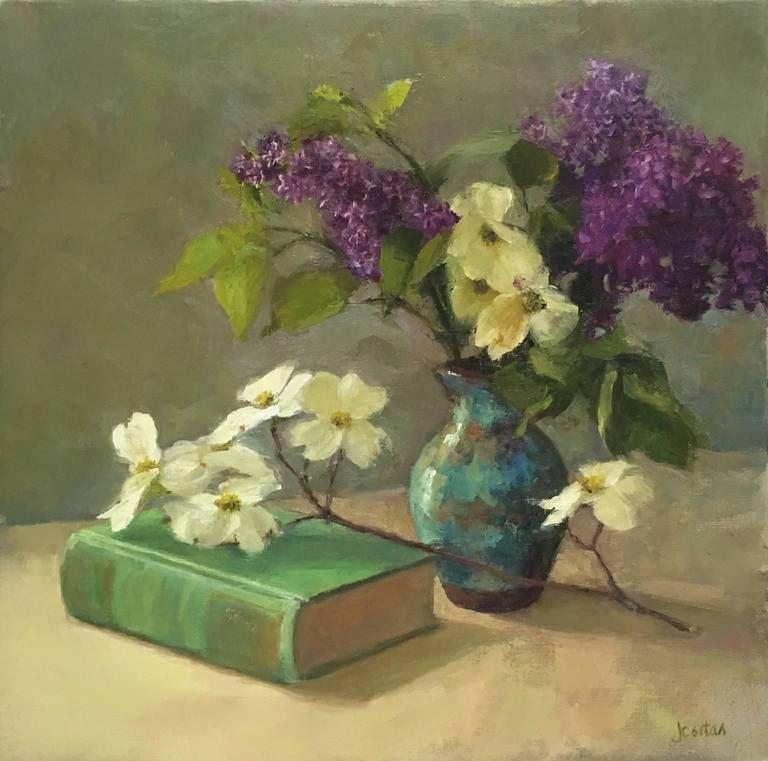 Susan Jositas Still-Life Painting - May Blossoms