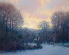 Pale Winter Sunrise