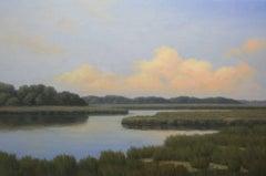 'Magic on the Horizon', Cape Cod Modern Impressionist Marine Oil Painting