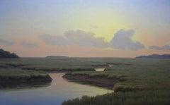 'Nature's Surprise', Cape Cod Modern Impressionist Marine Oil Painting