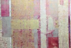 """Credo"", Large Contemporary Geometric Oil Painting"